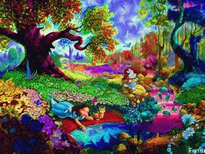 Trippy wonderland Full screen