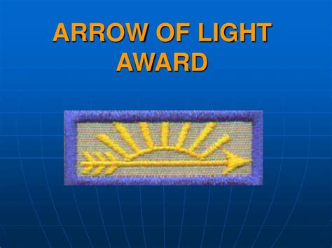 arrow of light ppt arrow of light requirements powerpoint presentation