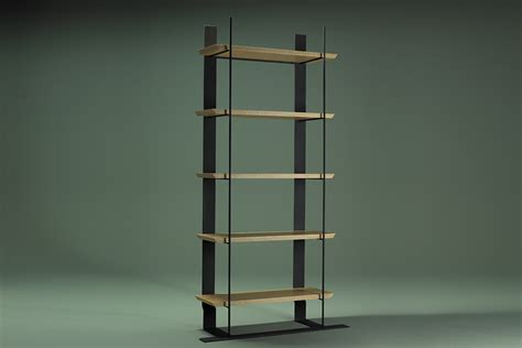 etagere metal bois ecart international etag 232 re m 233 tal et bois