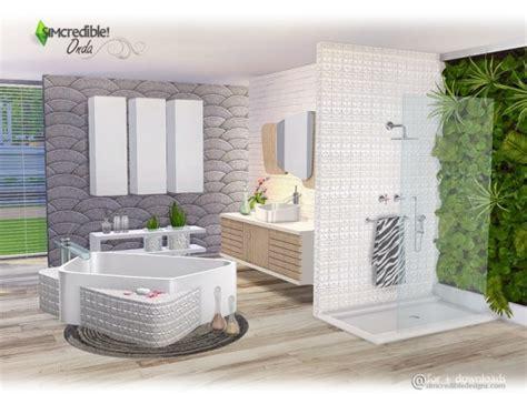 sims resource onda bathroom  simcredible sims