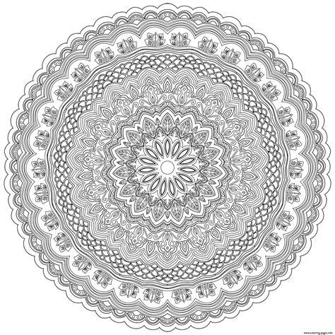 mandala zentangle antistress adult coloring pages printable