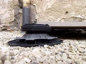 Dalle Pour Terrasse Sur Plot : plot dalle r glable autonivelant en pvc 65 95 mm pour ~ Premium-room.com Idées de Décoration
