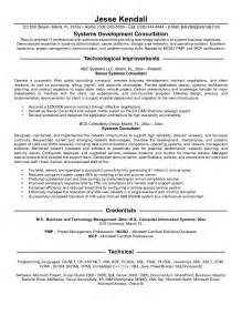 business consultant resume objective consulting resume exles berathen