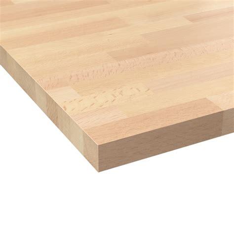 plan de travail cuisine hetre plan de travail cuisine n 602 hêtre lamelle bois massif