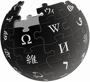 File Wikipedia Logo V2  Black  Svg