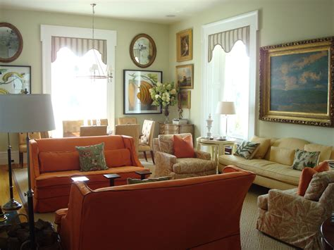 P Allen Smith Home Interiors : Dining & Living Rooms