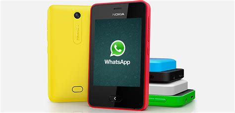 whatsapp now available for asha 501 microsoft devices