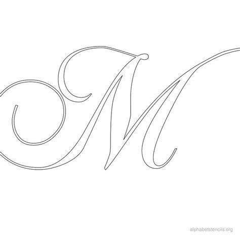 printable stencil letters free calligraphy printable alphabets alphabet stencils m 12284
