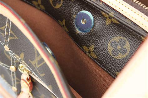 louis vuitton monogram canvas riveting bag  jills consignment