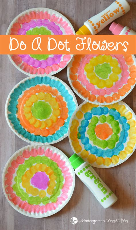 do a dot flower craft for preschool craft 536 | do a dot flower craft