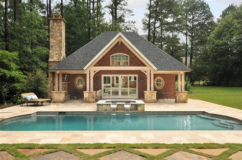 pool house plans a pool house in atlanta