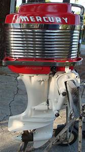 Vintage Antique 50 hp Mercury Mark 58 A Outboard For Sale