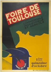 Foire De Toulouse : foire de toulouse poster museum ~ Mglfilm.com Idées de Décoration