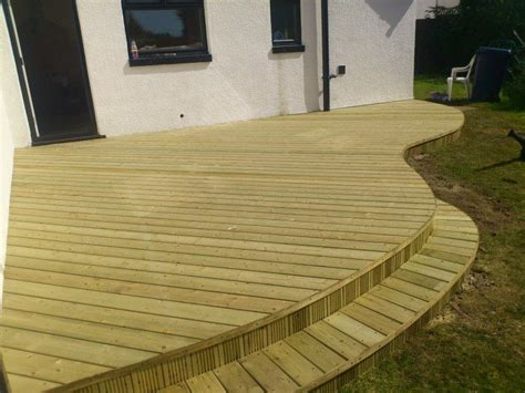 curved deck decks pinterest decking curves  deck