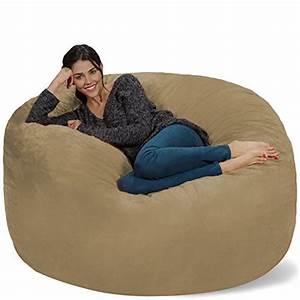 Chill, Sack, Bean, Bag, Chair, Giant, 5, U0026, 39, Memory, Foam, Furniture, Bean, Bag