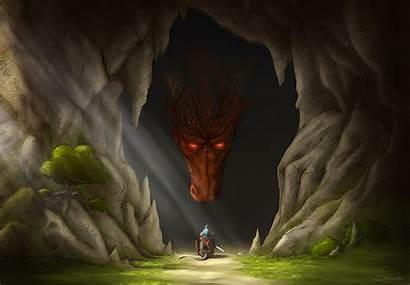 Cave Dragons Mouse Wallpapers Dragon Drawn Desktop