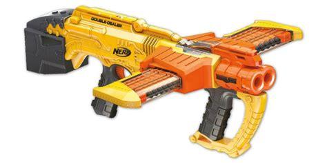 nerf double doomlands dealer strike zombie blaster guns blasters brainsaw gun fall hiconsumption releasing foam darts icymi far story barrel