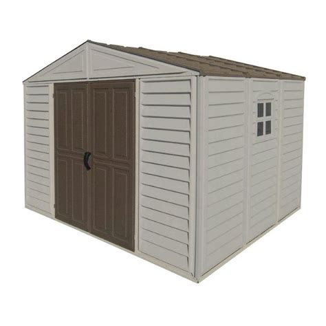 small white storage small white 10 ft x 8 ft storage sheds with duramax