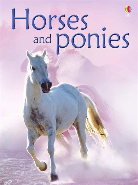 usborne horses ponies beginners milbourne pony cavalli gratuito nuovo libro anna