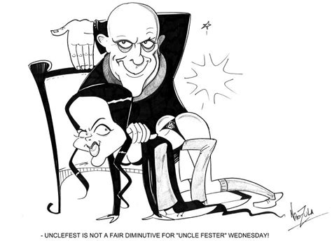 Uncle Fester By Nik-zula On Deviantart