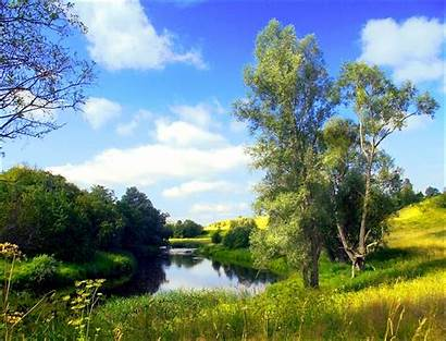 Region Novgorod Russia Oblast Landscape Northwestern Landscapes
