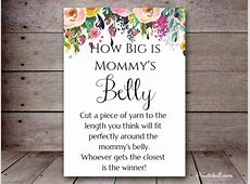How Big is the Belly – Printabell • Create