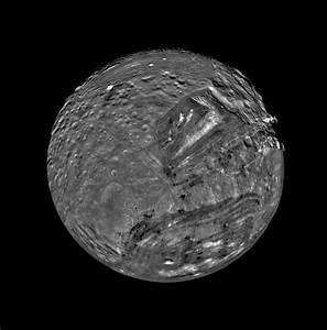 Uranus' Moon Miranda