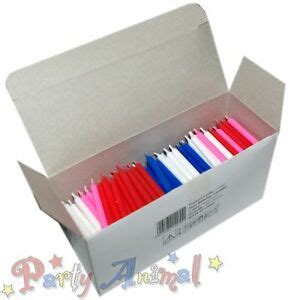 Cake Decorating Supplies Wholesale - 500 bulk wholesale wax birthday candles cake decorating