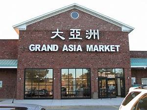 Grand Asian Market Korean grocery store in Raleigh
