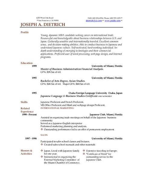 resume template word health symptoms and cure