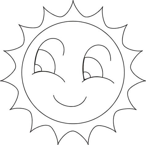 Dibujos de Sol para colorear Dibujos Para Colorear