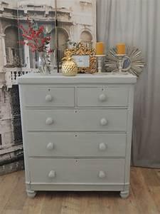 Shabby Chic Dresser : shabby chic victorian chest of drawers tallboy eclectivo london furniture with soul ~ Sanjose-hotels-ca.com Haus und Dekorationen