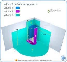 norme lectrique salle de bain et salle d eau volumes de scurit ou de protection