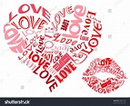 Lovehearts Kisses Stock Illustration 94621594 - Shutterstock