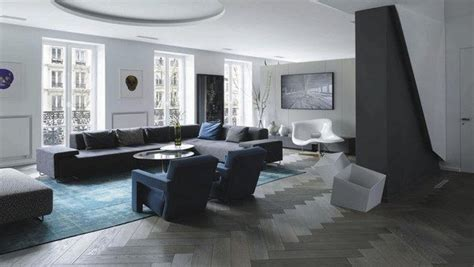 Wohnzimmer Mit Dunklem Boden by Grey Hardwood Floors In Interior Design And Cool Color