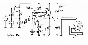 Icom Microphone Wiring Diagram  Engine  Wiring Diagram Images