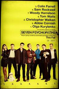 SEVEN PSYCHOPATHS Poster and THE WORDS Poster | Collider