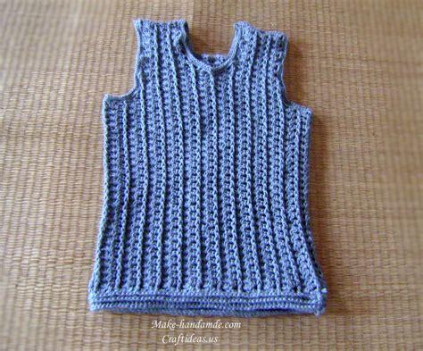 Baby Boy Vest Crochet Baby Boy Vest Craft Ideas