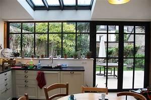 Verriere Atelier Exterieur : verri re ext rieure style atelier en aluminium industriel v randa et verri re rennes ~ Melissatoandfro.com Idées de Décoration