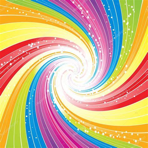抽象的なレインボー ラインのベクトルの背景 ストックベクター 169 elaineitalia 12635476