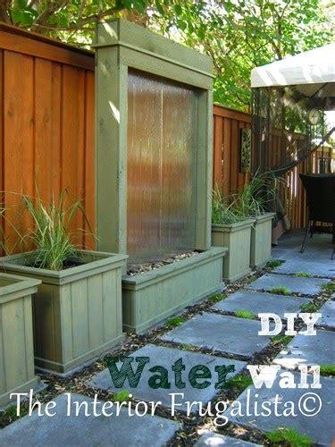 water wall diy diy patio water wall the interior frugalista diy patio water wall