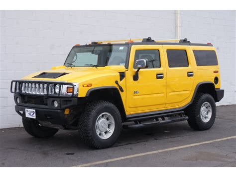 Yellow Hummer H2 Wallpapers