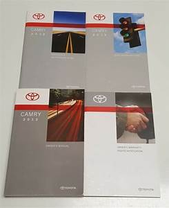 2012 Toyota Camry Owners Manual User Guide S Xle Se