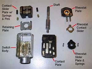 Porsche 914 Headlight Switch Repair