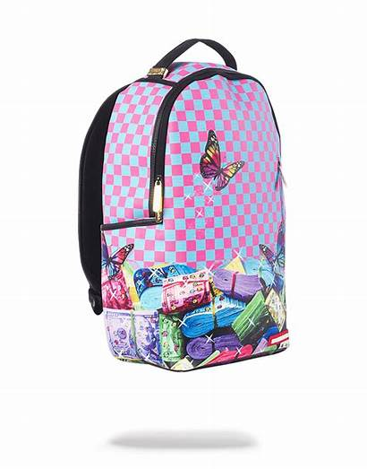 Sprayground Rainbow Bags Backpack Stacks Backpacks Mini