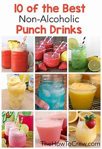 10 of the Best Non-Alcoholic Punch Drinks on TheHowToCrew ...