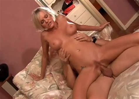 Lusty Blond MILF With Round Tits Cara Lott Blows Sugary