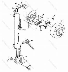 Polaris Snowmobile 1998 Oem Parts Diagram For Magneto