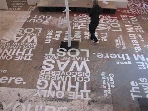words painted  floor painted floors pinterest creative texts  stencils