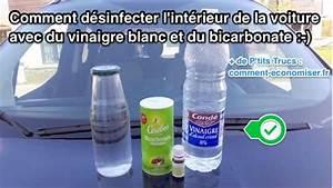 Nettoyage Moquette Vinaigre Blanc Et Bicarbonate : comment d sinfecter l 39 int rieur de la voiture avec du vinaigre blanc ~ Medecine-chirurgie-esthetiques.com Avis de Voitures